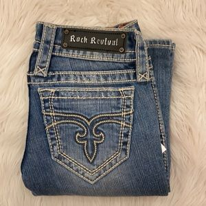 Rock revival Janet boot jeans